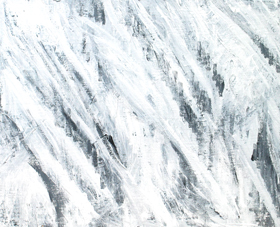 abstract expressionism, abstract white, abstract weather theme, abstract natural weather scene, abstract white minmalism, abstract subtle brush stroke pattern, acrylic painting #4310, 2005 | Kazuya Akimoto Art Museum