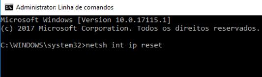 ip169 cmd netsh int ip reset