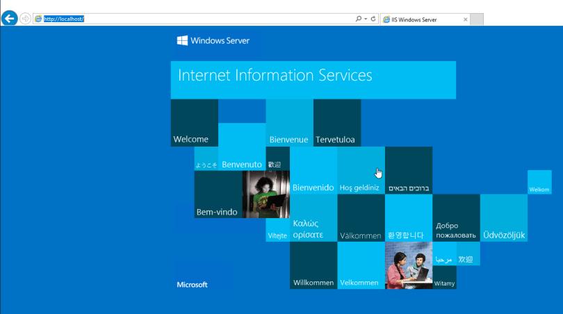 Windows Server IIS - Testar o Servidor Web