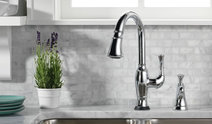 brizo kitchen faucet flush mount lighting faucets solna collection 7 talo