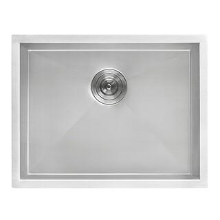 ruvati rvu6124 forma 24 x 18 inch laundry utility undermount 16 gauge stainless steel sink