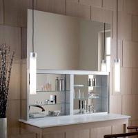 Robern UC3027FPE Uplift Mirrored Medicine Cabinet-30 Inch ...