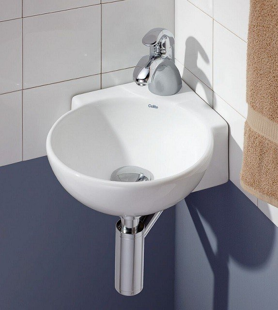 cheviot 1349 wh 1 12 3 4 inch corner wall mount vessel sink in white