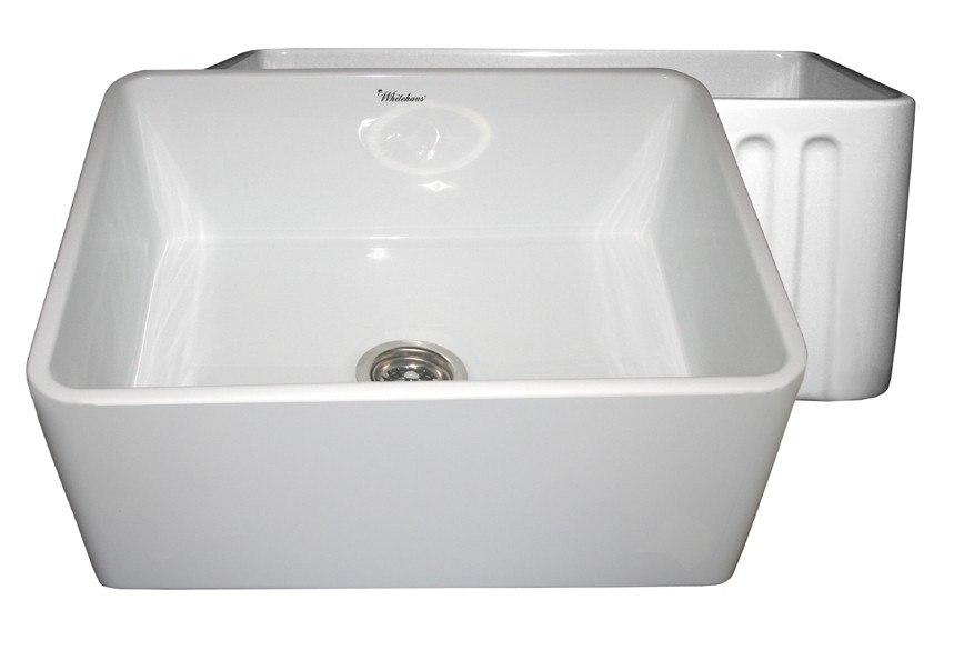 nantucket sinks hyannis 24 fireclay farmhouse 24 inch apron sink