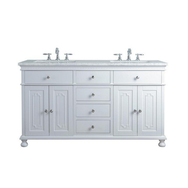 stufurhome hd 1013w 60 cr abigail embellished 60 inch white double sink bathroom vanity