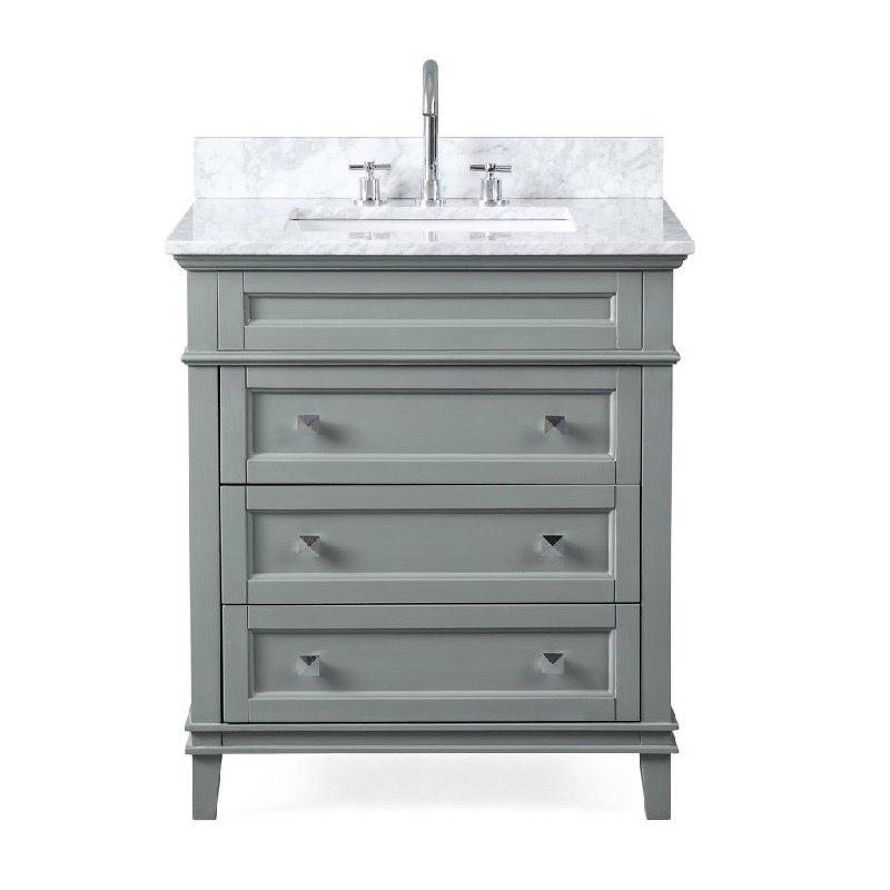 chans furniture zk 1810 v30ck 30 inch tennant brand felix bathroom vanity in grey