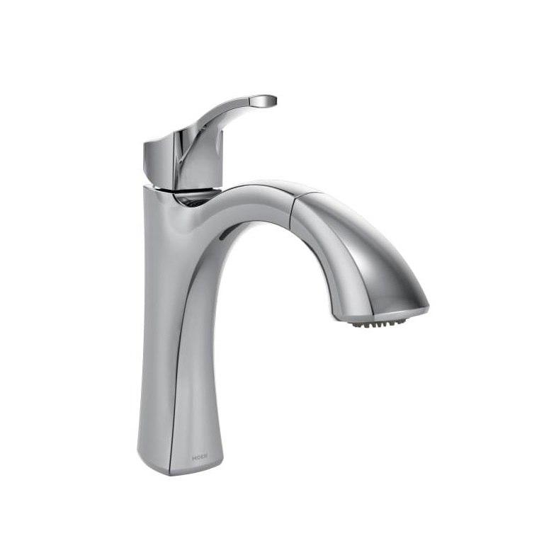 moen 9125 voss single handle pullout kitchen faucet