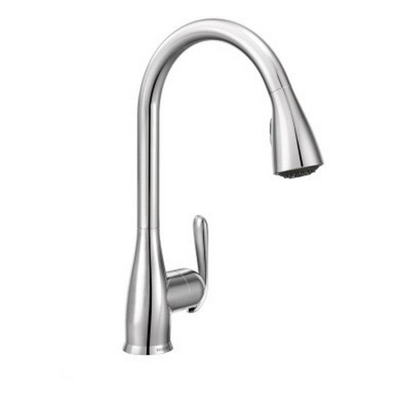 moen 87879 haysfield one handle high arc kitchen faucet