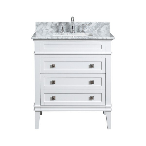 modetti mod10022wh 30 rivoli 30 inch single bathroom vanity set in white
