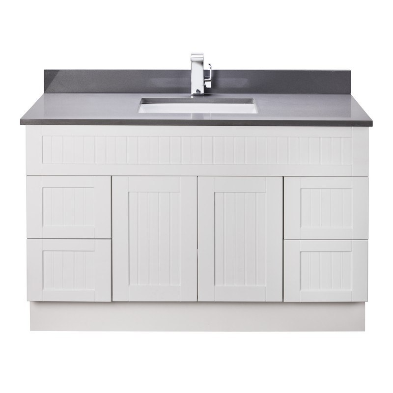 cutler kitchen and bath cotsw48t stratford collection 48 inch bathroom vanity with quartz top in cottage white