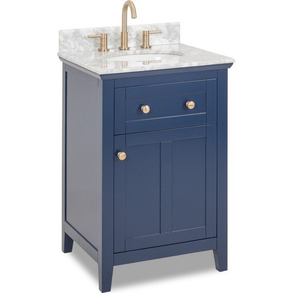 Design Element S05 24 Blu Marian 24 Inch Bath Vanity In Blue