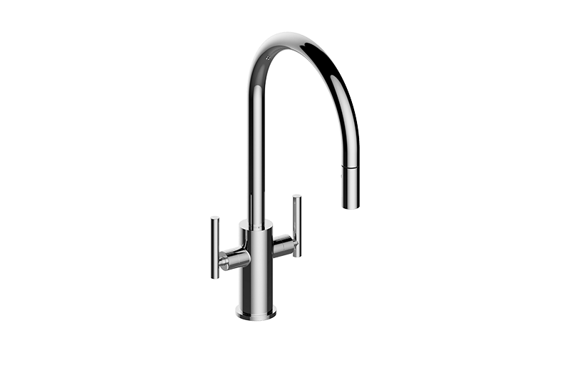 graff g 4670 lm49k sospiro contemporary two handle single hole kitchen faucet