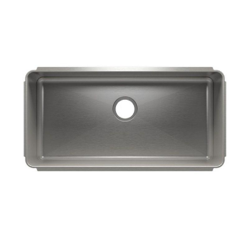 julien 003214 classic 34 1 2 17 1 2 10 undermount single bowl stainless steel kitchen sink