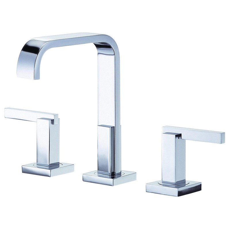 danze d304644 sirius trim line 2h mini widespread lavatory faucet w metal touch down drain 1 2gpm