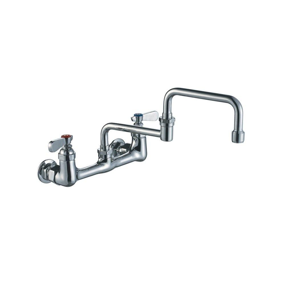 whitehaus whfs9814 008dj c heavy duty 18 inch wall mount utility faucet