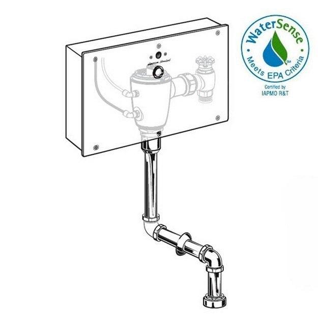 American Standard 6063.401.007 Concealed Flushometer for 3