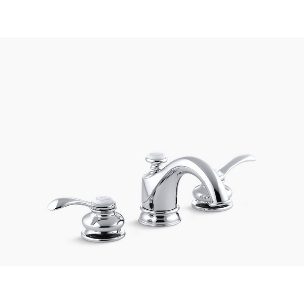 kohler k 12265 4 fairfax widespread bathroom faucet with ultra glide valve technology free metal pop up drain assembly with purchase