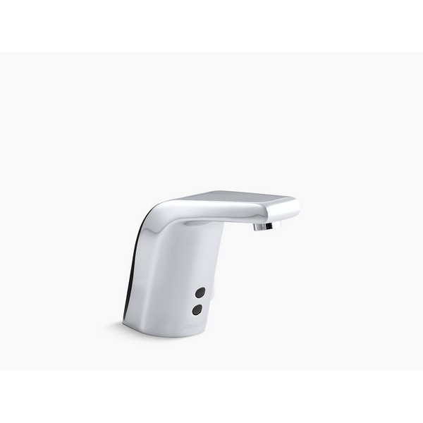 kohler k 7515 touchless single hole bathroom faucet with insight technology and 30 year hybrid energy cell without drain assembly