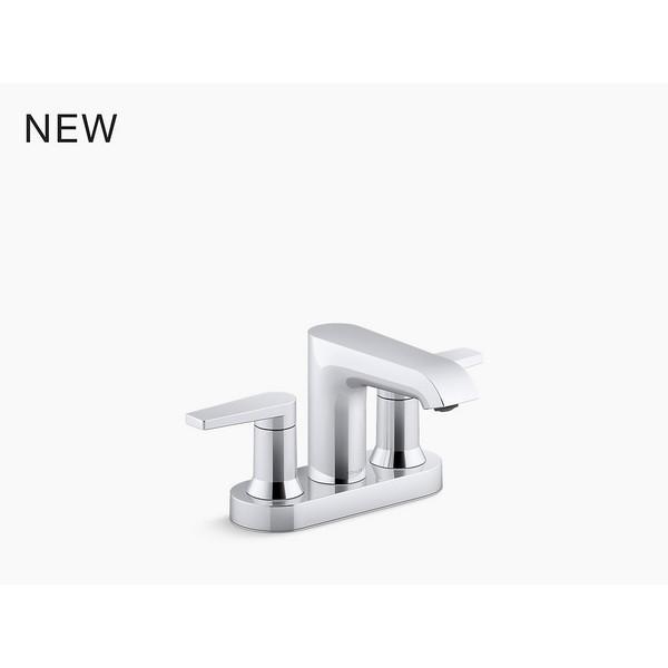 kohler k 97094 4 hint centerset bathroom sink faucet