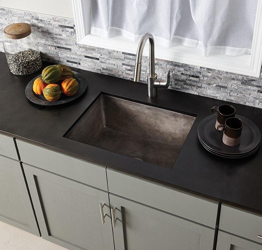 native trails nsk2418 farmhouse 24 inch nativestone concrete apron front sink