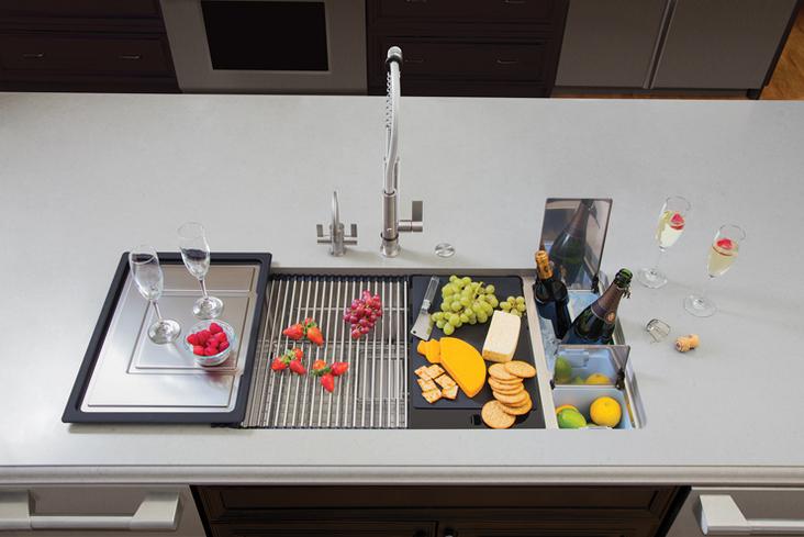 kitchen sink basket strainer rv rca winner: franke | & bath business