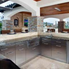 Danver Outdoor Kitchens Kitchen Island Bar Table Stainless Partners With Timbertown Austin