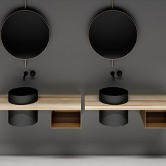 Living Room Lighting Fixtures Industrial Look Boffi's Elementi Is A Bathroom System That Include ...