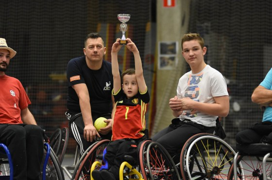 First Wheelchair Softball Tournament in Belgium prime example of sports integration