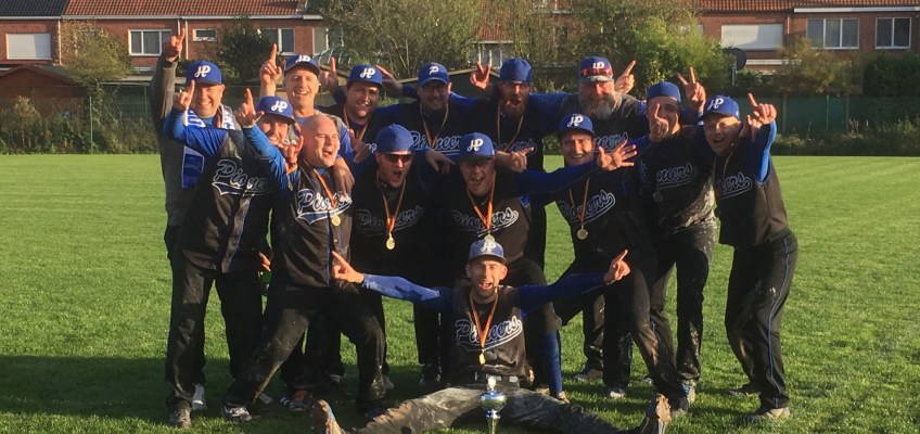 4 Flemish Softball Teams in Men's European Super Cup this week in Prague