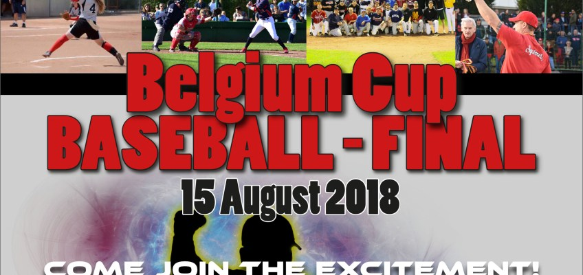 Wednesday 15 August Final Belgium Cup Baseball – Braves vs Squirrels @ Borgerhout – Be There!