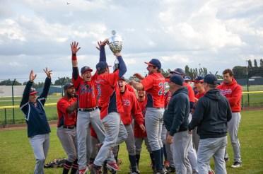 Brasschaat Braves win the Belgium Cup Baseball 2019