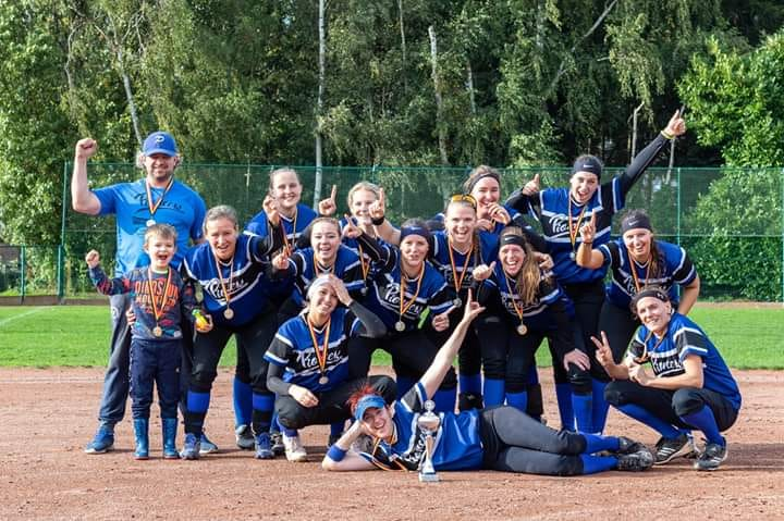 Pioneers win Belgian Series Softball Women 2019