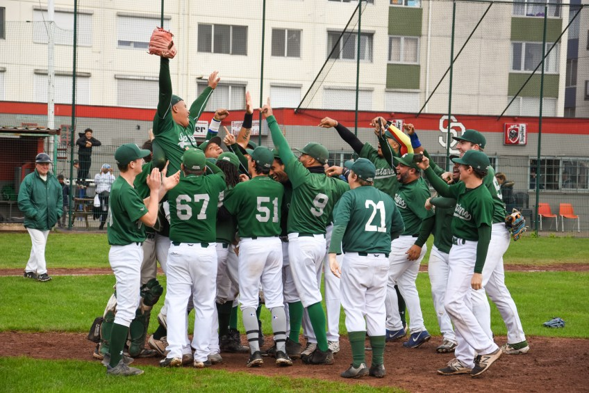 Deurne Spartans back-to-back Champions Baseball Gold