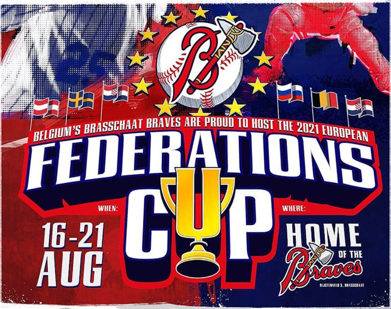 Federation Cup Baseball 2021 in Brasschaat