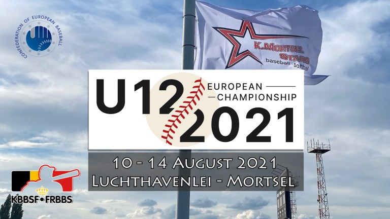 We are proud to host the U12 European Baseball Championship 2021