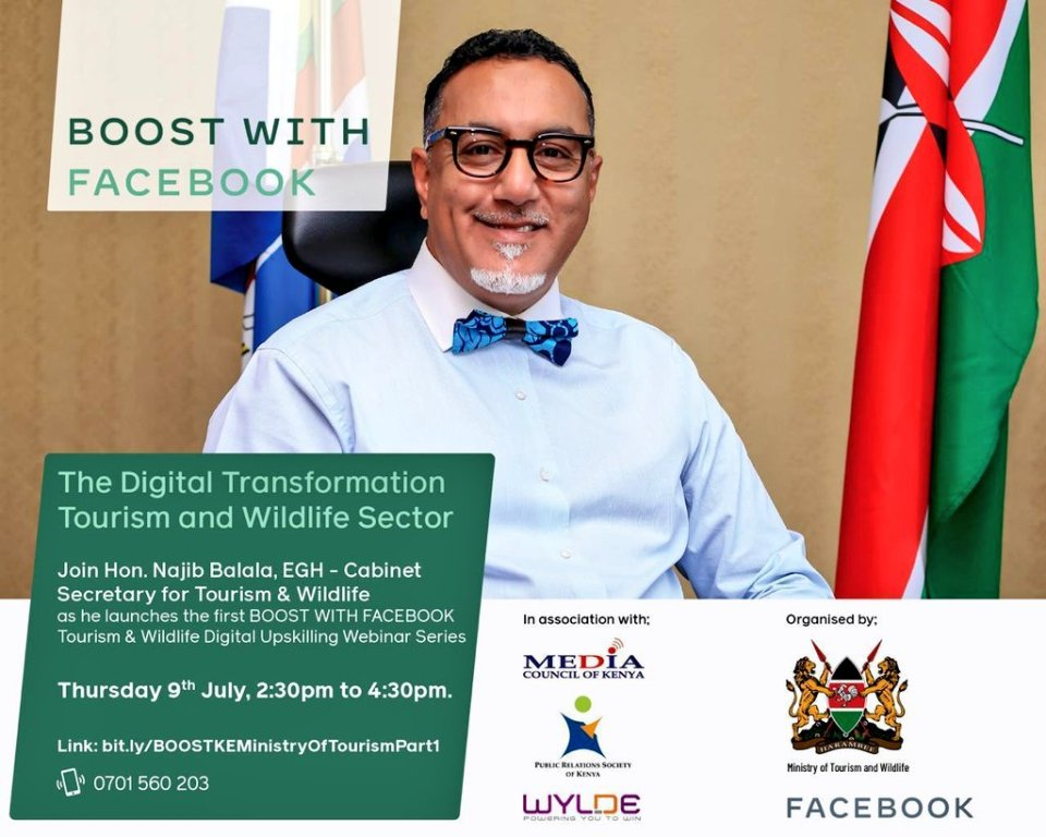 Ministry of Tourism, Facebook launch digital marketing programme