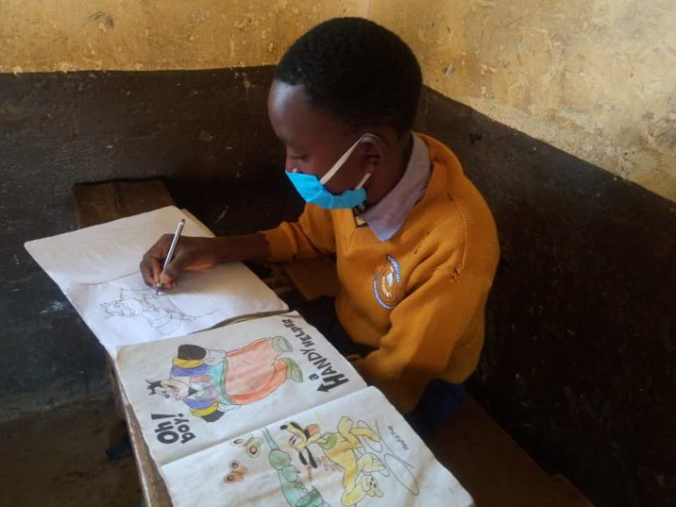 Learners in Kitui County to receive free masks