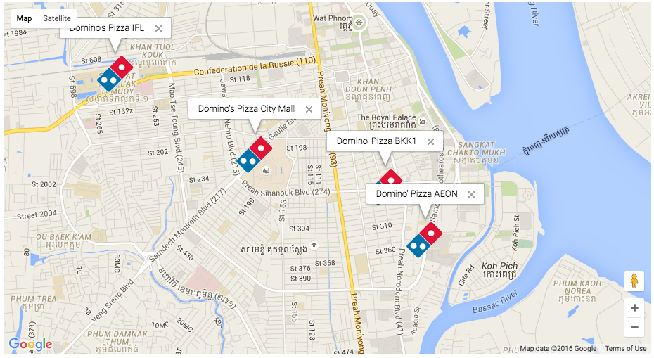 Domino's Pizza - KB Cambodia on