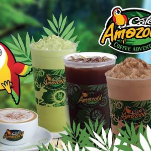 Amazon Cafe  – PTT Sensok