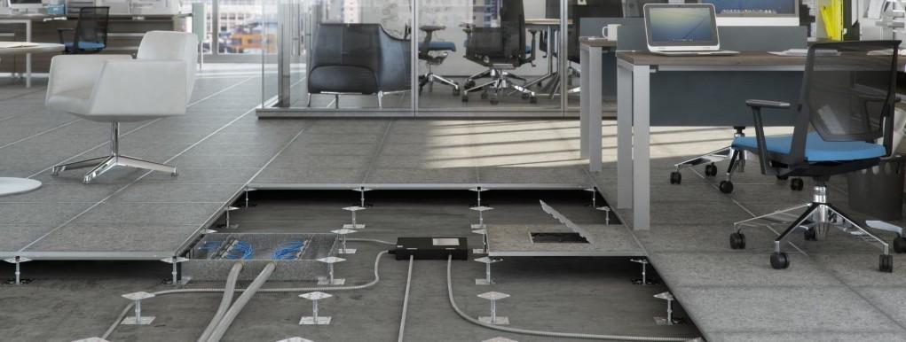Raised Access Flooring Columbus  King Business Interiors