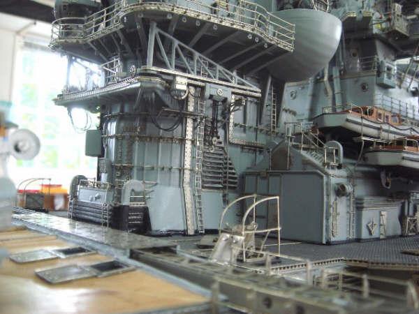 1 100 Bismarck Model By Hans Werner Schleiter