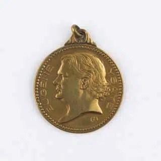 Médaille d'Ysaÿe par Armand Bonnetain, 1922 (Mus. Obj. 36)
