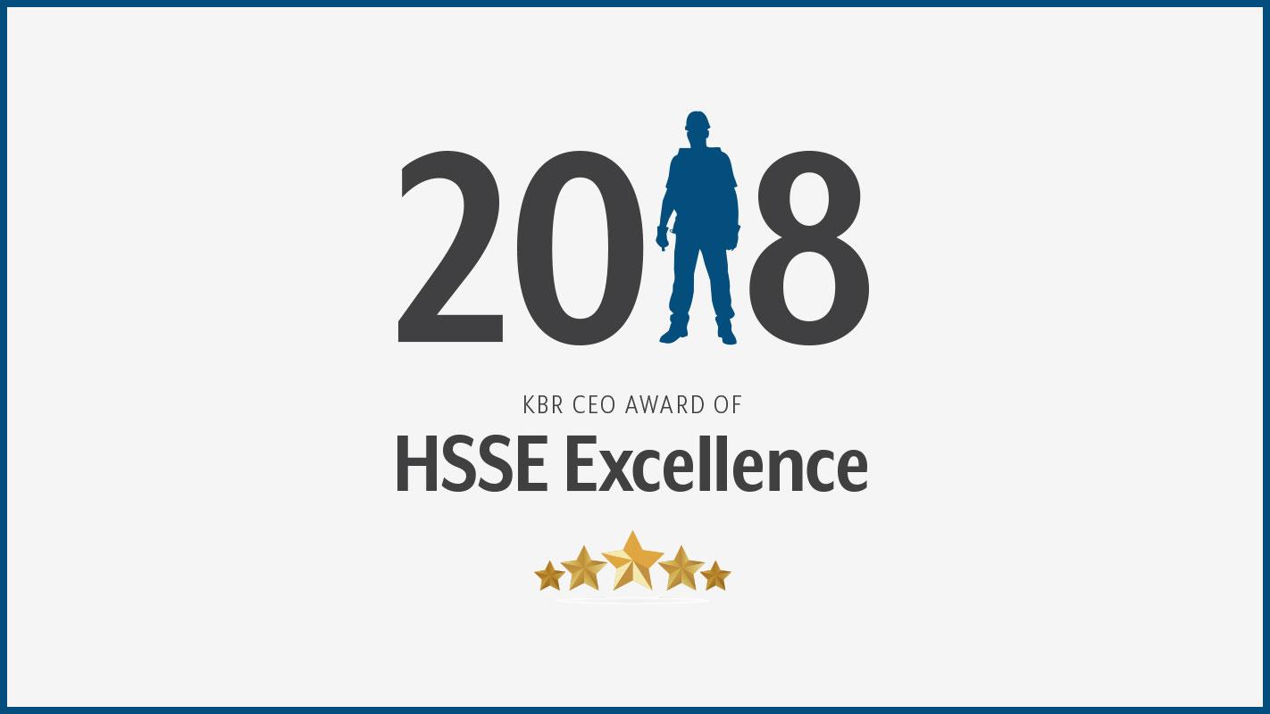 Stuart Bradie Announces Recipients of CEO Award for HSSE