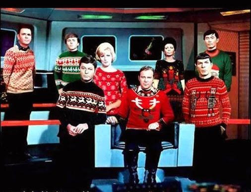 Merry Christmas Trek KB SEZ