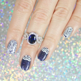 Wondrously Polished Berricle Kbshimmer Nail Art Jewelry 6 7