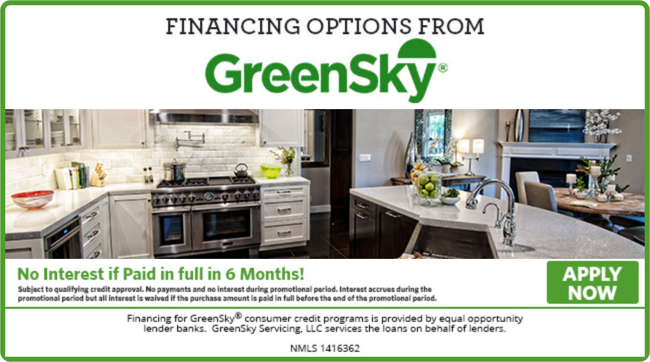 kitchen loans cabinet countertop ideas financing through greensky kbs and bath source white from makes it easier to remodel your