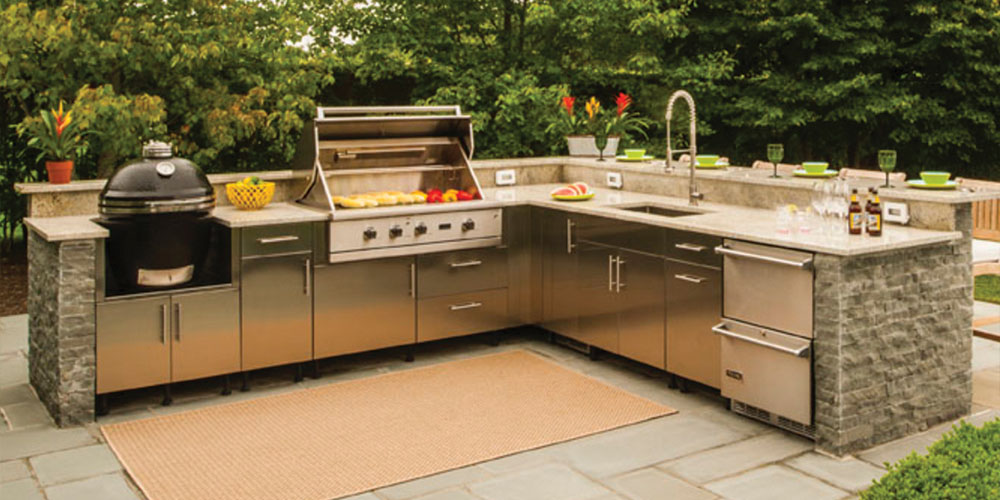 Outdoor Kitchen Cabinets Westchester Putnam Fairfield KBS
