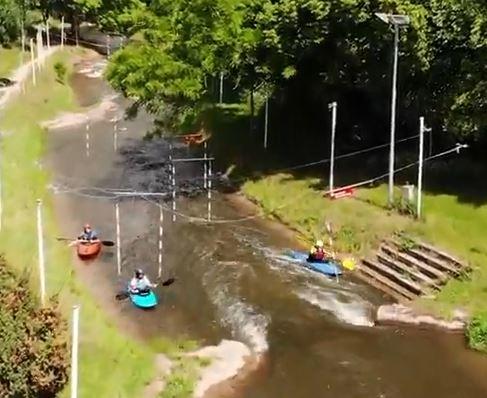 Vorschaubild zum Imagevideo Wildwasserkanal