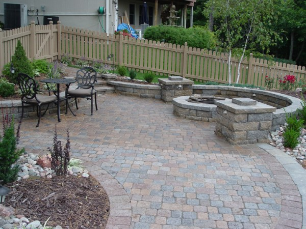 paver patios four seasons lawn