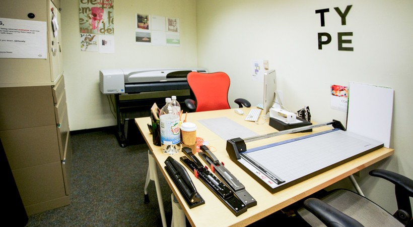 Graphic Design Resource Room  Kendall College of Art and Design of Ferris State University